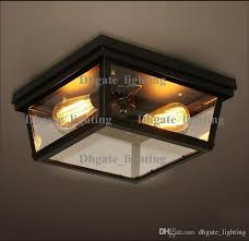 industrial flush mount light online cheap american industrial style rh cambridge flushmount