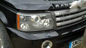 how to remove the headlights on a range rover sport 2005 09 youtube