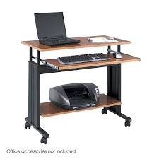 Electronic Height Adjustable Desk by Amazon Com Safco Products 1926cy Muv 29 34