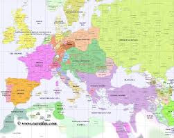 Eastern Europe Political Map by Ap World History Maps