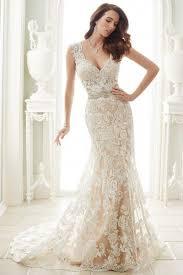 lace wedding dress court v neck a line lace sleeveless beading chagne