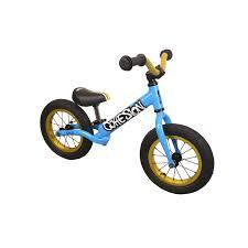 motocross balance bike cohesion ca22 deluxe alloy balance bike blue jollymap