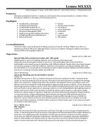 Teaching Resume Template Free How To Add Microsoft Office Experience To A Resume Esl Thesis