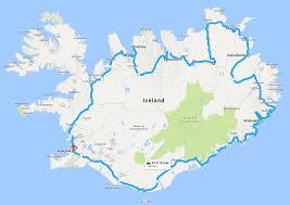 Iceland Map World Road Trip Around Iceland Summer 2017 Tiny Iceland