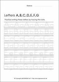 free traceable alphabet worksheets worksheets