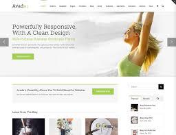 avada theme portfolio order 55 best business wordpress themes 2018 athemes