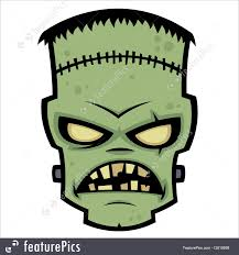 Cartoon Halloween Monsters Halloween Frankenstein Monster Stock Illustration I2610699 At
