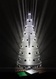 modern christmas tree half white primary modern christmas trees