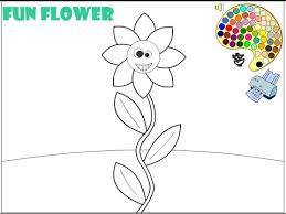 flower coloring pages for kids flower coloring pages youtube