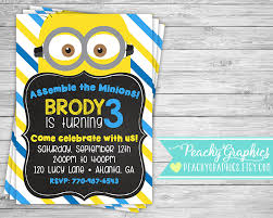 diy minion invitations printable minion invitation minions birthday party invite