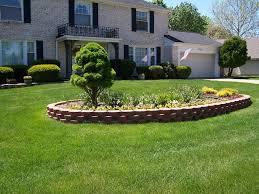 retaining wall garden design