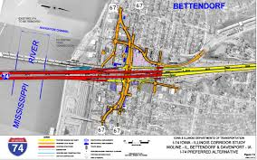 Moline Illinois Map Driving Directions To I 74 Bridge Replacement Project Area