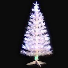 widmanns white fibre optic artificial tree white led