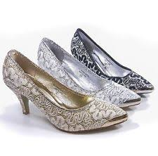 wedding shoes size 11 silver bridal shoes ebay