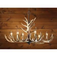 Unique Light Fixtures by Lighting Elk Antler Chandelier Deer Antler Light Fixture
