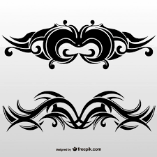 tribal element vector free