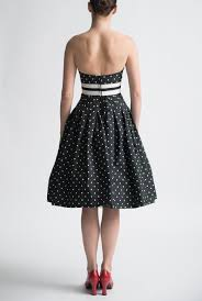 vintage cocktail archive black and white cocktail dress