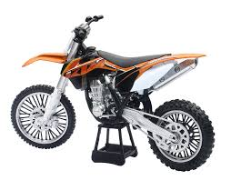 amazon com 1 10 scale ktm 450 sx f motorcycle die cast replica by