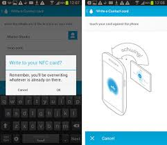 Business Card Reader For Android Moo Launches Android App To Control New Nfc Business Cards