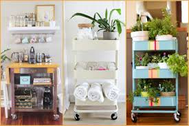 Organize Your House Organize Your Home With Cart We Should Do This