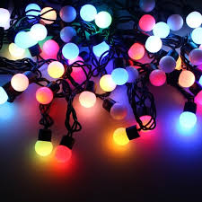 metre colour changing rgb led string lights with decorative