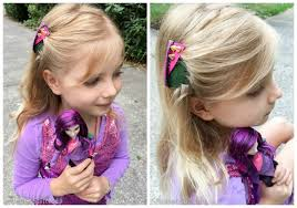 mal hair disney hair accessories for descendants mal and evie