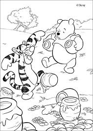 199 disney プー images coloring pooh
