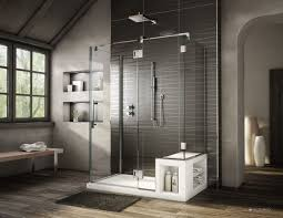 Bathroom Shower Bases 60 U201d X 36 U201d Fleurco Acrylic Shower Base With Bench Seat And Matching