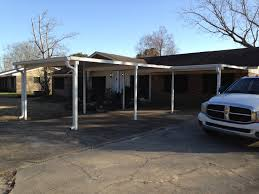 attached carport carports rainbow building structures