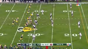 thanksgiving jeopardy aaron rodgers says u0027ahh u0027 after bad snap against chicago bears