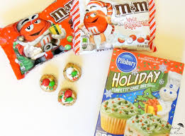 holiday funfetti mini cookie cups crafting in the rain