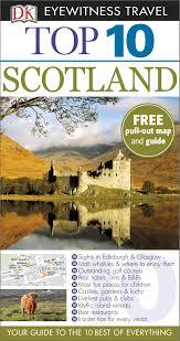 Map Of Glasgow Scotland Dk Eyewitness Top 10 Travel Guide Scotland Amazon Co Uk Alastair