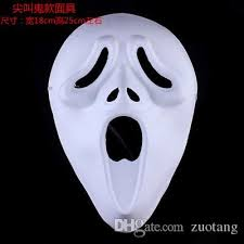 unpainted masks unpainted blank paper pulp mask for men women white