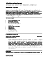 Resume Sample Of Mechanical Engineer How To Become A Mechanical Engineer 15 Steps With Pictures