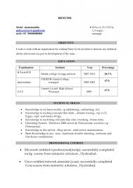 cv title examples resume title examples for fresher engineer resume template example