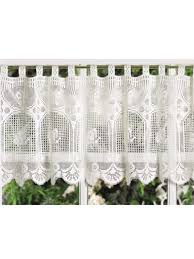 Butterfly Lace Curtains Filet Crochet Valance 10 Beautiful Free Crochet Curtain Patterns