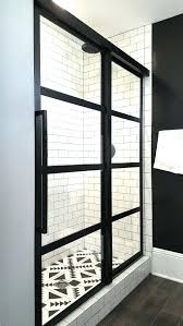 Black Shower Door Black Shower Door Glassnyc Co