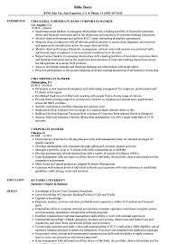 corporate resume exles corporate banker resume sles velvet