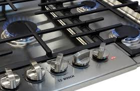 Gas On Glass Cooktop 36 Bosch Ngm8655uc 36 Inch Gas Cooktop Review Reviewed Com Ovens