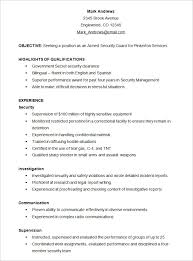 resume templates samples gfyork com