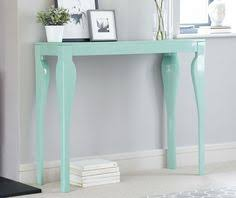 White Gloss Console Table Eva White Gloss Console Table 199 00 Design Pinterest