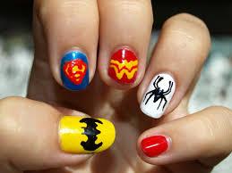 8 superhero nail designs superhero nail art nails pinterest biz