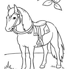 horse coloring free printable archives mente beta