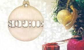 Personalised Christmas Ornaments - personalised christmas ornaments christmas cards