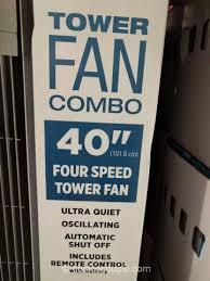 sunter tower fan costco sunter tower fan combo