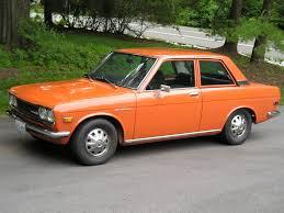 that was my first car in orange datsun 510 une vague des
