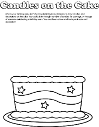 Birthday Cake Coloring Page Crayola Com Birthday Cake Coloring Pages