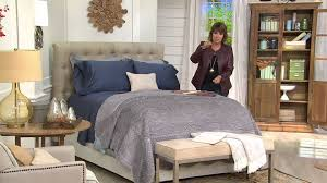Qvc California King Bedroom Set Northern Nights 600tc 100 Cotton Wrinkle Defense Sheet Set With