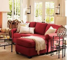 Red Sofa In Living Room by Living Room With Sectional Red Sofa Ideas To Accessorizing Your