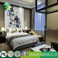 chinese style 5 star bedroom set of hotel furniture zstf 22